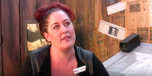 brooke walters talks about being a designer at Knott's
