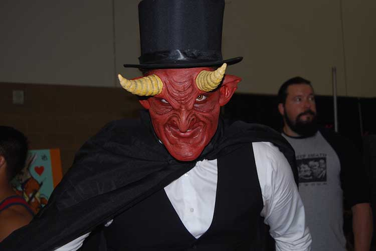 red devil man