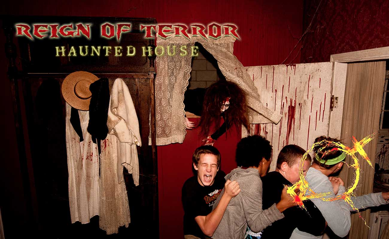 Reign of terror haunted house opens for one night in for 13 door haunted house