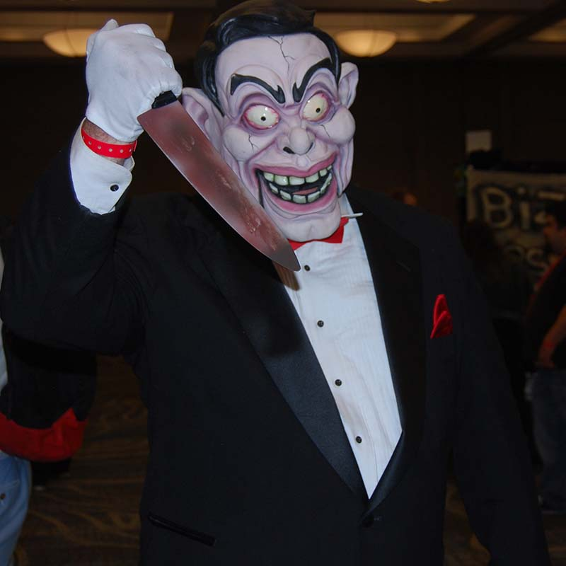 Master horror cosplayer Chris Hannan