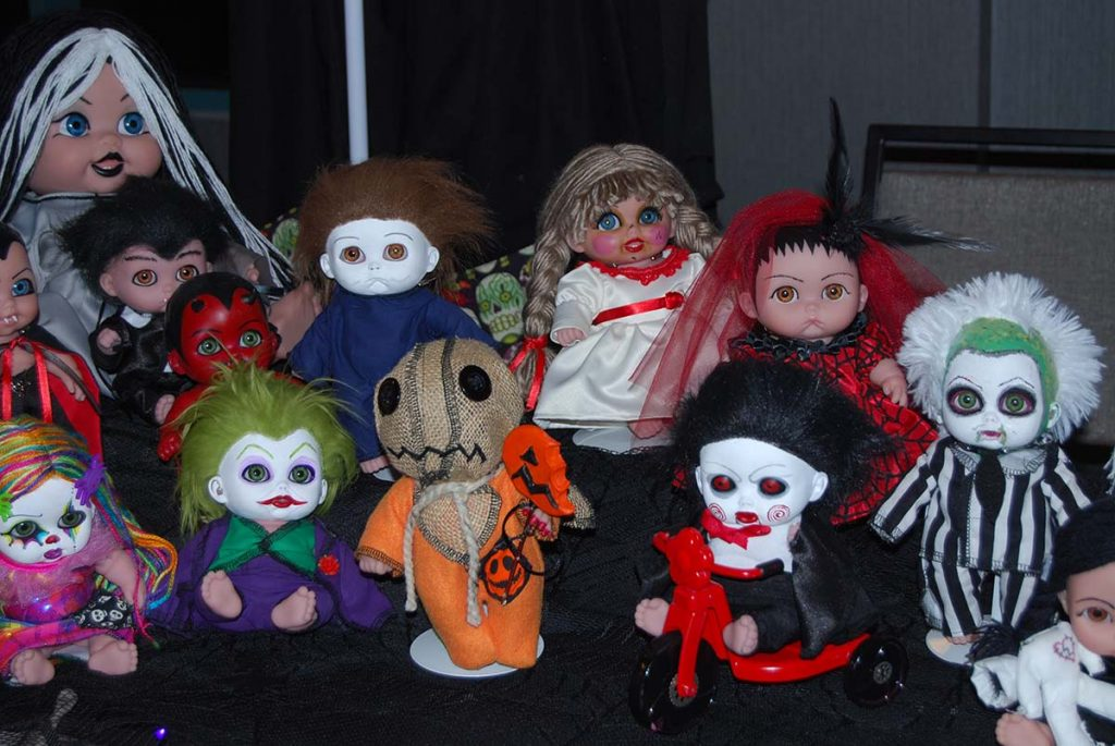 More scary dolls