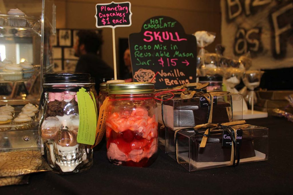 Yes, that's a hot chocolate skull and vanilla brains