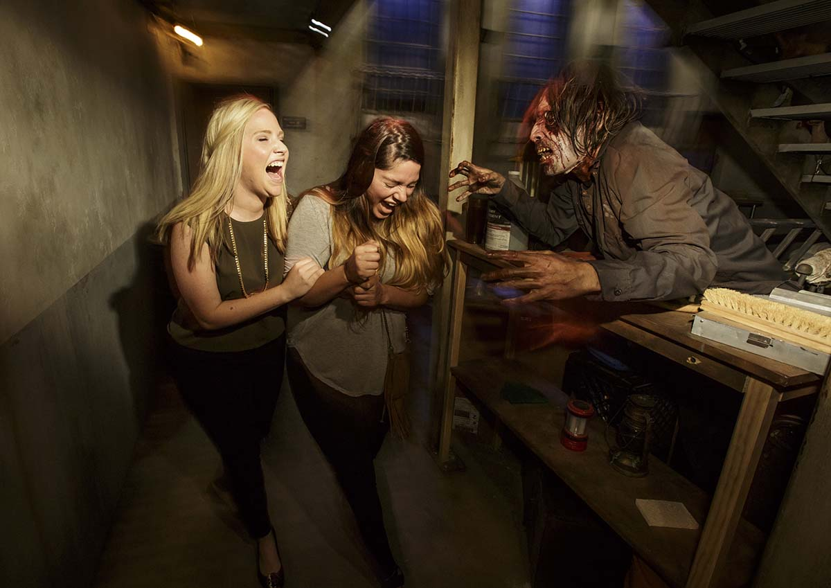 """The Walking Dead"" permanent attraction/ Photo by David Sprague"
