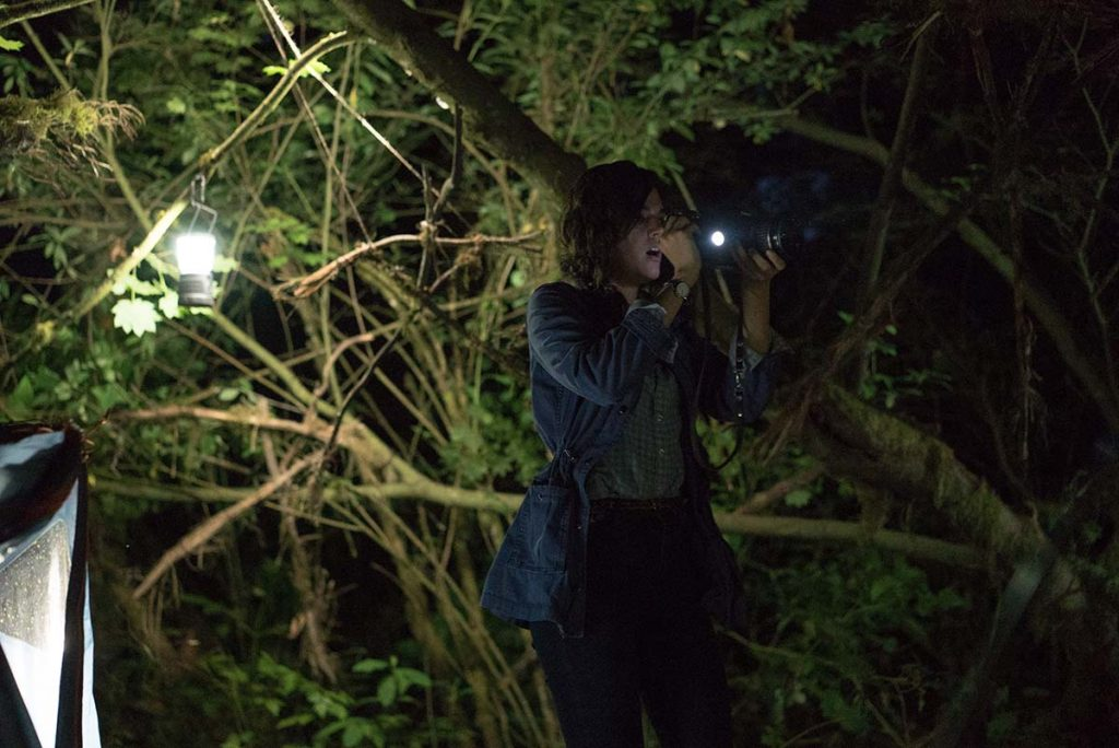 Callie Hernandez stars as Lisa in Blair Witch. / Photo Credit: Chris Helcermanas–Benge