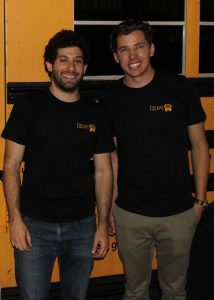 Jonathan Katz and Tyler Russell, The Escape Bus co-founders / Photo by Jessica Peralta