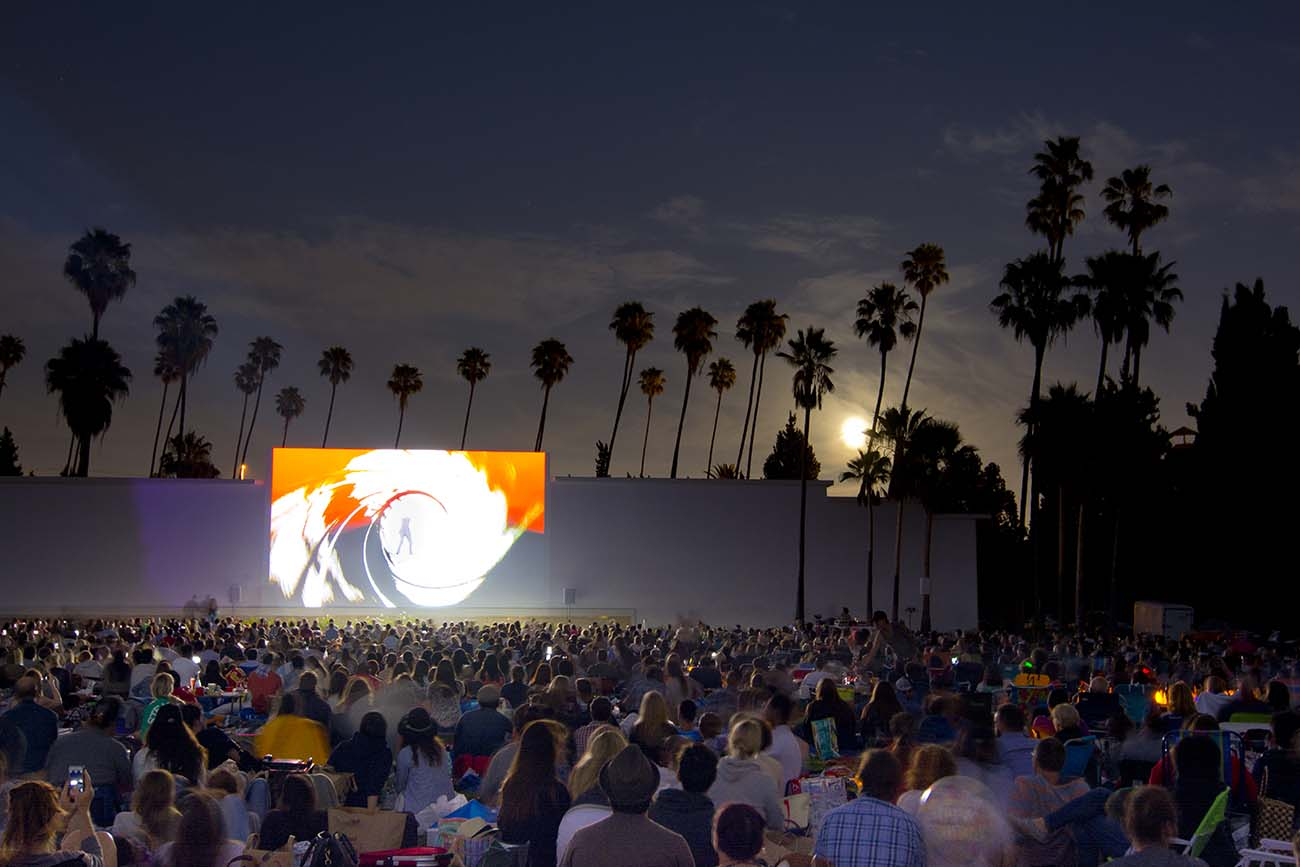 Cinespia Outdoor Movies at Hollywood Forever Cemetery / Photo by Kelly Lee Barrett © Cinespia.org
