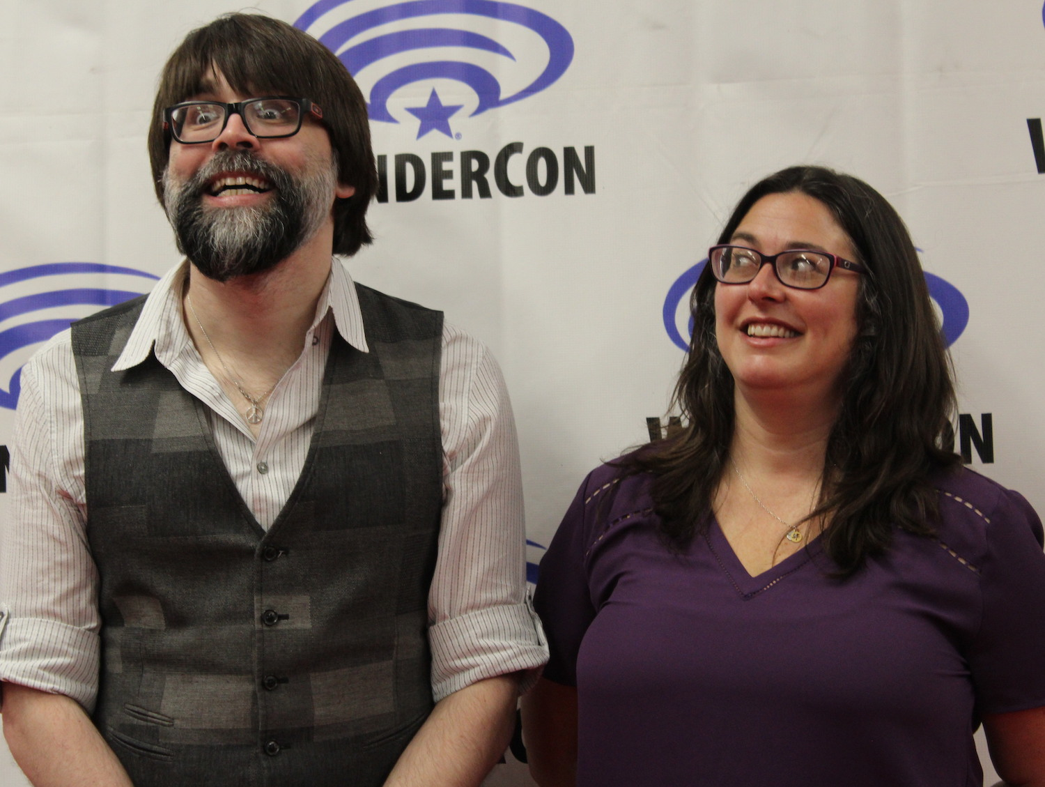 Joe Hill and Jami O'Brien